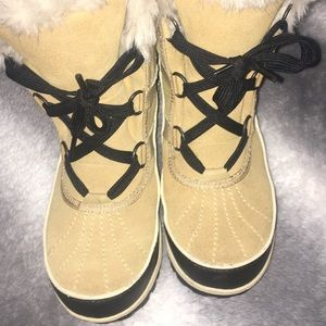 Sorel Tivoli II Faux FurTrimmed Suede Leather Boot